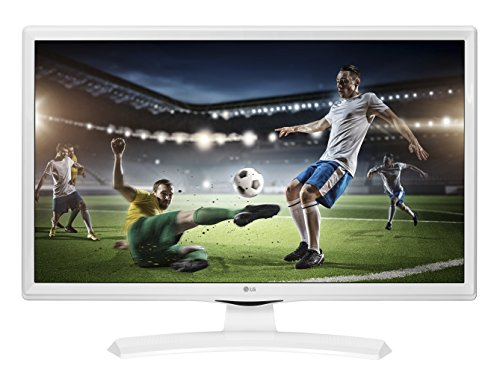 LG 28TK410VW 28' HD Mate Plana Blanco Pantalla para PC - Monitor (71,1 cm (28'), 1366 x 768 Pixeles, HD, 5 ms, Blanco)