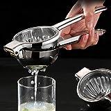 WHSS Exprimidor manual de limón de acero inoxidable 304 exprimidor portátil para el hogar