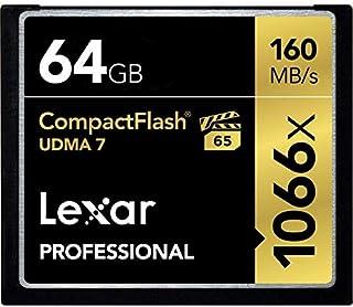 Cartão de Memória Lexar Compact Flash Extreme UDMA 7 de 64GB - 160mb/s 1066x