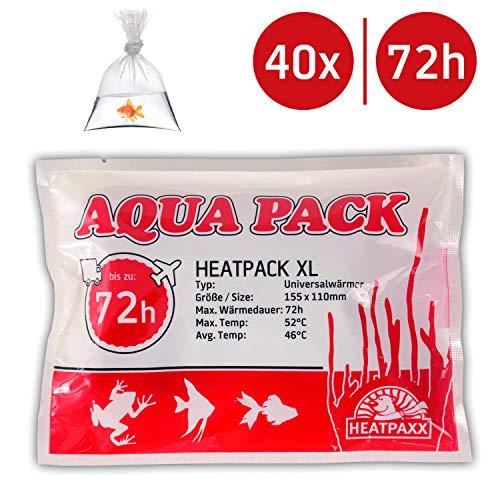 Neu HeatPack 72h | Wärmekissen für den Versand von Tieren | Pflanzenversand | 15,5 cm x 11 cm (40)
