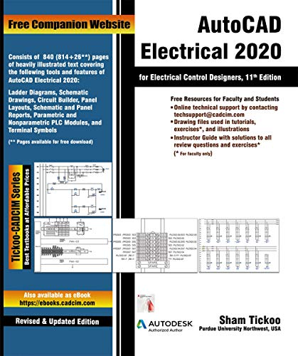 AutoCAD Electrical 2020 for Electrical Control Designers, 11th Edition (English Edition)