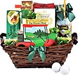 Gift Basket Village Tee Time, Golf Themed Gift Basket with Snacks for the Golfing Enthusiast, 10 Piece Set, Savory Snacks, 96 Oz (Pack of 10)