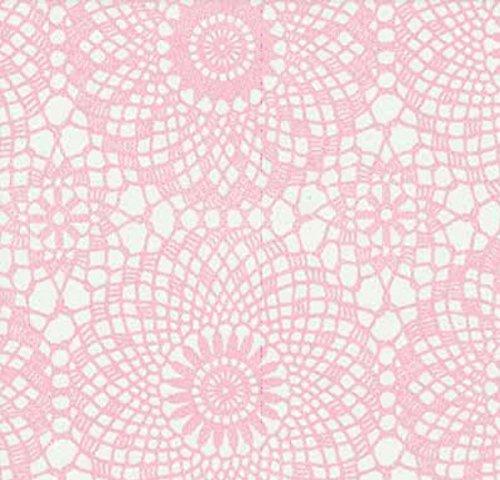 AS4HOME- Aufkleber für Möbel, Pink, Spitze, 45cm x 200cm