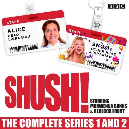Shush!: The Complete Series 1 and 2 cover art