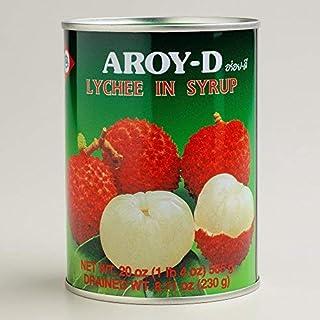 Aroy-D / Lychee in syrup / ライチ・.シロップ漬け(ライト)/ 荔枝罐头 / 565g [並行輸入品]
