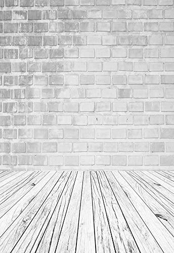 Textura de Suelo de Tablero de Madera Vieja Telón de Fondo Vintage Baby Doll Retrato Fotografía Fondo Estudio fotográfico Fotófono A11 10x10ft / 3x3m