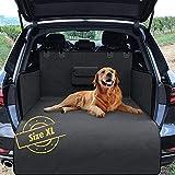 Naloo's World Coperta per Cani per Auto, per Sedile Posteriore/Bagagliaio, Borsa per Il Trasporto, Protettiva, Protezione Laterale, Impermeabile, Lavabile, Morbida e Antiscivolo