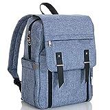 LCP Kids mochila cambiador de pañales multifuncional | Bolso maternal gran capacidad | Compartimento para portátil, impermeable