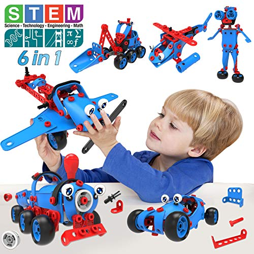 AceLife STEM Toys Kit 6 in 1 Educational Construction Building Blocks Toys...