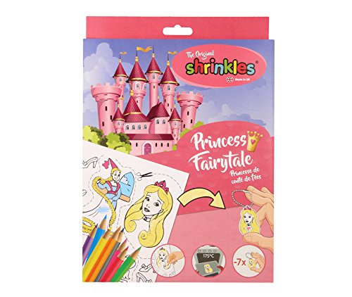 Shrinkles Shrinkles-WZ005 Original Fairytale Princess plástico mágico Crafts Caja de Parachoques, Color Desconocido (Keycraft WZ005
