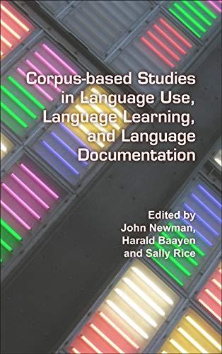 Corpus-Based Studies in Language Use, Language Learning, and Language Documentation