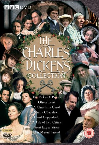The Charles Dickens BBC Collection Box Set: Pickwick Papers / Oliver Twist / A Christmas Carol / Martin Chuzzlewit / David Copperfield / A Tale of Two Cities / Great Expectations / Our Mutual Friend [12 DVDs] [UK Import]