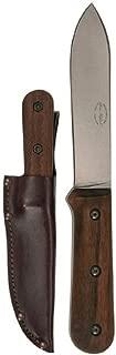 KA-BAR Becker Kephart Fixed 5.1 in Blade Walnut Handle, Brown BK62 Overall Length: 9.688