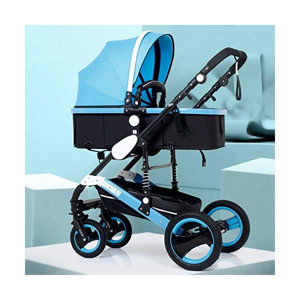 RianGo Baby Stroller 3 in 1 newborn stroller baby car pushchair High Landscape baby pram strollers for 0 36 months baby trolley RianGo The three-in-one adjustable 5-point seat belt has comfortable shoulder pads, and the firm frame has a wider seat, which can bring your child a more comfortable riding experience. . Weight: 25 kg bearing load: 5 kg bearing load: 8 kg bearing load: 25 kg The stroller can be easily folded, smaller and lighter. The angle of the backrest is adjustable, you can sit or lie down, there is also a large shopping basket and casters 3D shock absorber, triple shock absorber can effectively relieve external vibration, and effectively protect the baby's brain development. 1