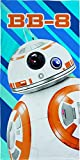Serviette de bain de plage officielle Star Wars BB8 100% coton