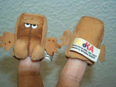 Kösener 0710 - Bernd, das Brot - Fingerpuppe