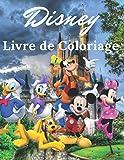 Disney Livre de Coloriage: Livre de coloriage Disney pour enfants et adultes, +50 pages de qualité incroyable pour des heures de plaisir.