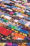 Notebook - Travel Journal - 110 pages: Bangkok, Thailand - Night market Ratchada