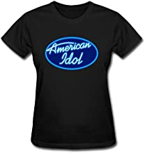 SDAKGF Women's American Idol Logo T Shirt XXL