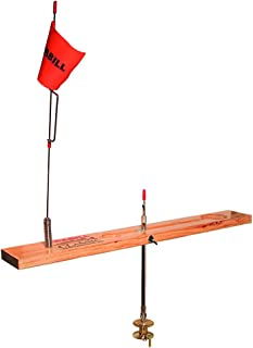 wooden tip down