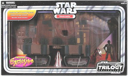 Star Wars Original Trilogy Collection Exclusive Sandcrawler Vehicle Playset Buy Online In Cayman Islands Star Wars Products In Cayman Islands See Prices Reviews And Free Delivery Over Ci 60 Desertcart
