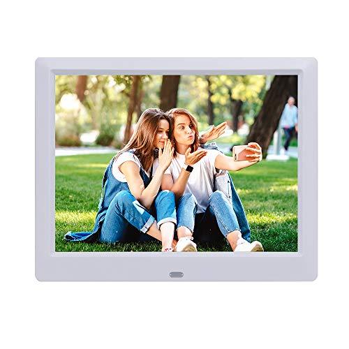 9-Zoll-Digitalfotobilder mit Fernbedienung, Foto-Video-MP3-Player / 4 Windows/Kalender/Wecker / 6 Sprachen Unterstützung für elektronische Fotorahmen USB-Stick SD/MS/MMC/SDHC-Karte