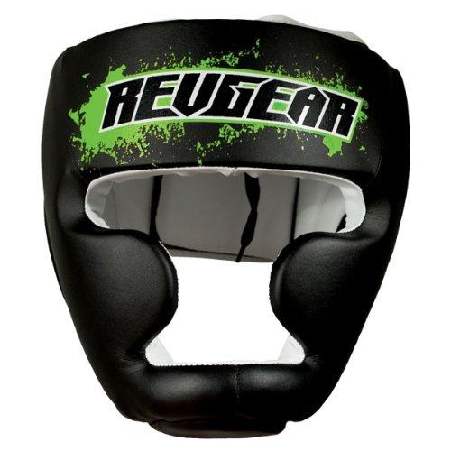 Revgear Youth Combat Series Headgear, Black, Large