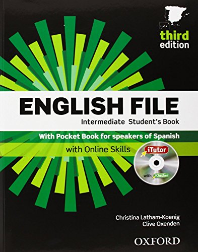 English File 3rd Edition Intermediate. Student's Book + Workbook with Key Pack (English File Third...