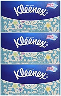 Kleenex 2-ply Facial Tissues, 85 Count - 3 Pack (255 Total)