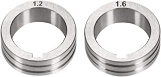 uxcell Welder Wire Feed Drive Roller 1.2-1.6mm Groove Roll Parts for Welding Machine Tool 2 Pcs