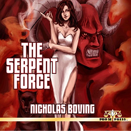 Maxim Gunn: The Serpent Force audiobook cover art