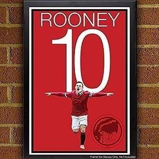 Wayne Rooney Poster - Manchester United Art