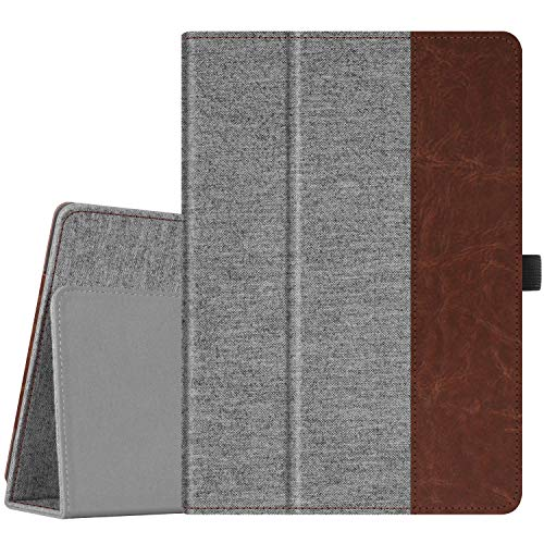 FINTIE Case for Lenovo TAB E10 TB-X104F / Lenovo Tab 4 10 / Lenovo Tab 4 Plus 10 / AT&T Lenovo Moto Tab 10.1-Inch Tablet - Premium PU Leather Folio Cover with Auto Sleep/Wake, Denim Grey