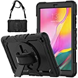 SEYMCY Galaxy Tab A 10.1 2019 SM-T510/T515 Case Heavy Duty