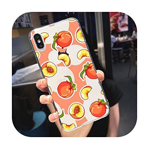 Caja transparente suave para iPhone 5, 5S, 5C, se 6, 6S, 7, 8, 11, 12 Plus, mini x xs, XR, Pro, max-a12, para 7 Plus u 8 Plus