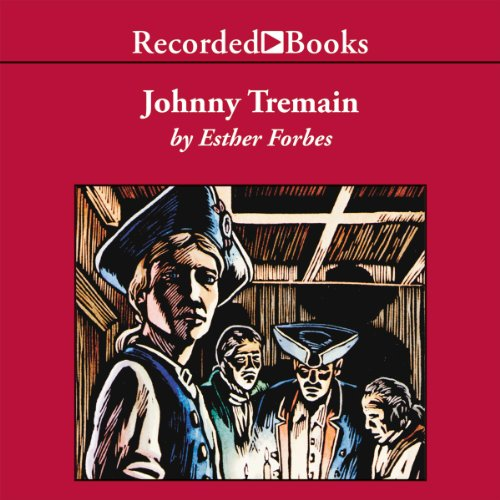 Johnny Tremain audiobook cover art
