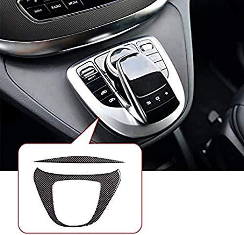 Carbon-Faser-Interiuerleisten Trim Türverkleidung Gangschaltung Glas-Aufzug for den Mercedes Benz V-Klasse W447 V260 2015-2020 Autotechnik C