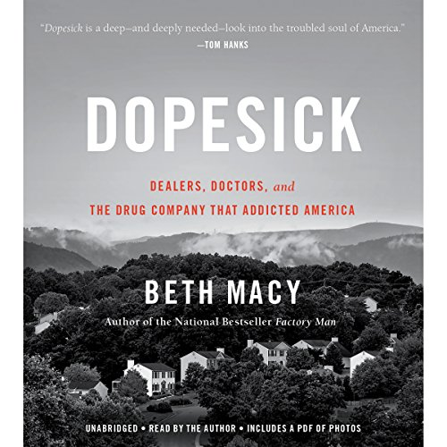 Dopesick audiobook cover art