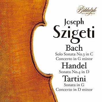 J.S. Bach, Handel & Tartini: Violin Sonatas & Concertos