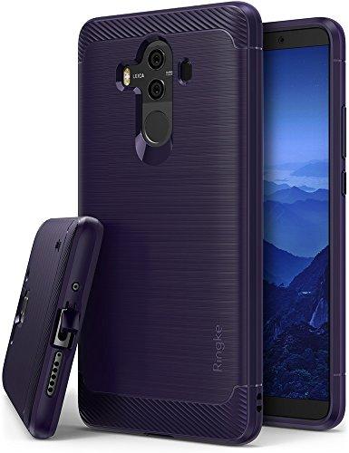 Ringke Cover Huawei Mate 10 PRO, [Onyx] [Forza Resistente] Versione Globale Internazionale Durevolezza Flessibile, Durevole Antiscivolo, Custodia Difensiva TPU per Huawei Mate10 PRO - Plum Violet