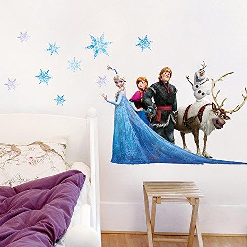 Stickers Mural enfants Frozen Friends (Disney) Nouvelles Images