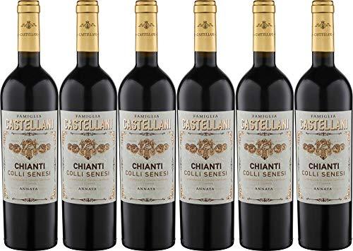 6x Chianti Colli Senesi 2019 - Weingut Famiglia Castellani, Chianti - Rotwein