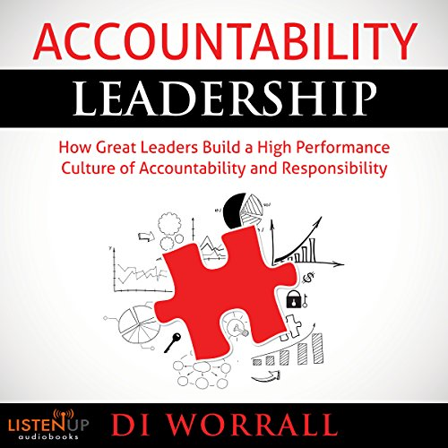 Accountability Leadership audiobook cover art
