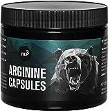 L-Arginina 160 cápsulas de nu3 – Comprimidos con 2200 mg - Dosis pura diaria controlada – Amino semi esencial para atletas de alto rendimiento – Mejora la masa muscular – Suplemento vegano