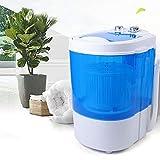Mini lavadora de 6 kg, centrifugado automático, para camping