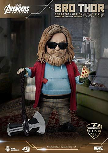 Beast Kingdom Toys Action Figure Thor, Unisex Bambino