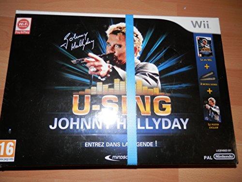 U-Sing - Johnny Hallyday - Version collectror - jeu + 2 microphones + poster