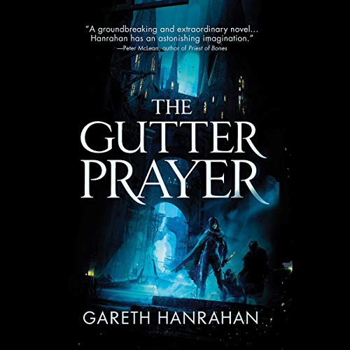 The Gutter Prayer audiobook cover art