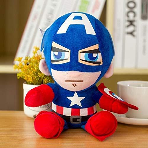 JMHomeDecor Cartoon Plush Toy Plush Superhero Plush Dolls Captain America Ironman Iron Man Spiderman Thor Plush Stuffed Plush