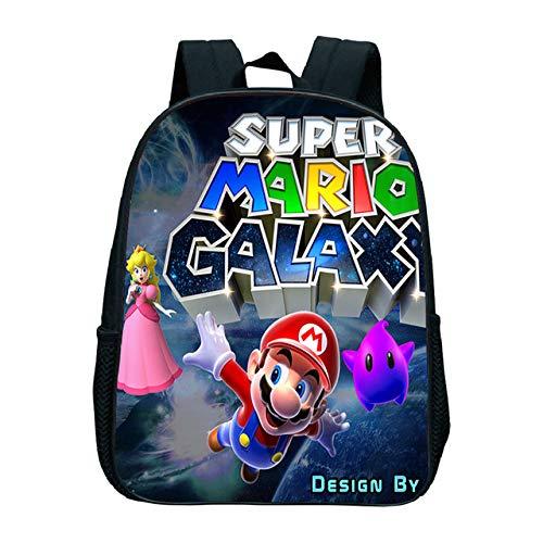 MIAOGOU Super Mario Backpack Kids School Bag Kindergarten Bag Waterproof Backpack Daily Backpack Children's Backpack Cartoon Backpack